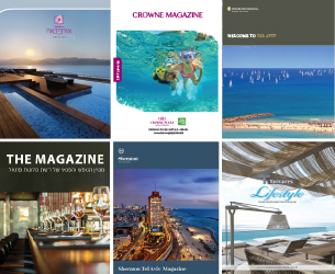 Israel Travel News Ltd Produces And Publishes A Variety Of In House Magazines For Number S Hotels Hotel Chains Both English