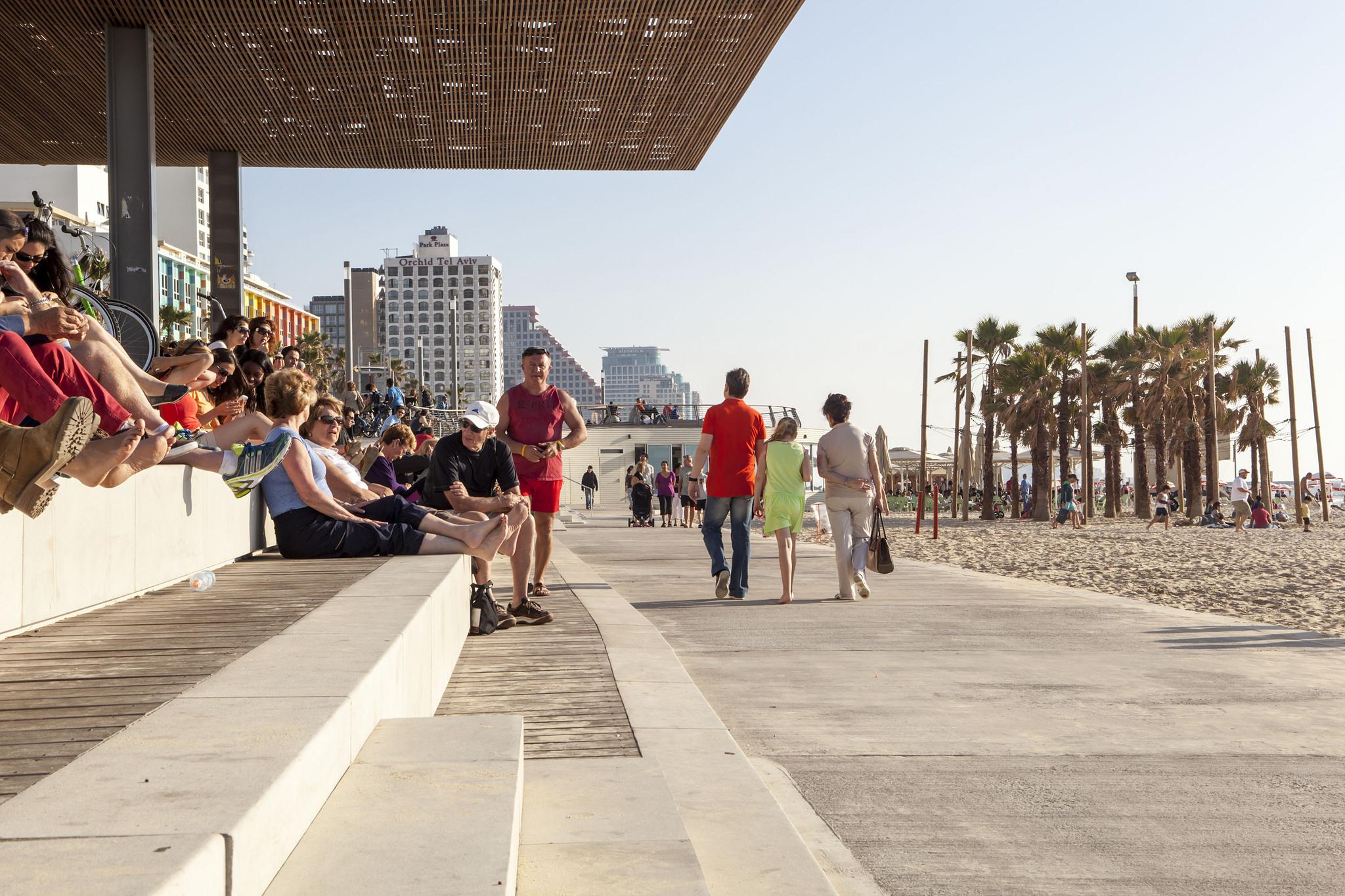 Tel Aviv Update: Beach Renovations Continue In Tel Aviv